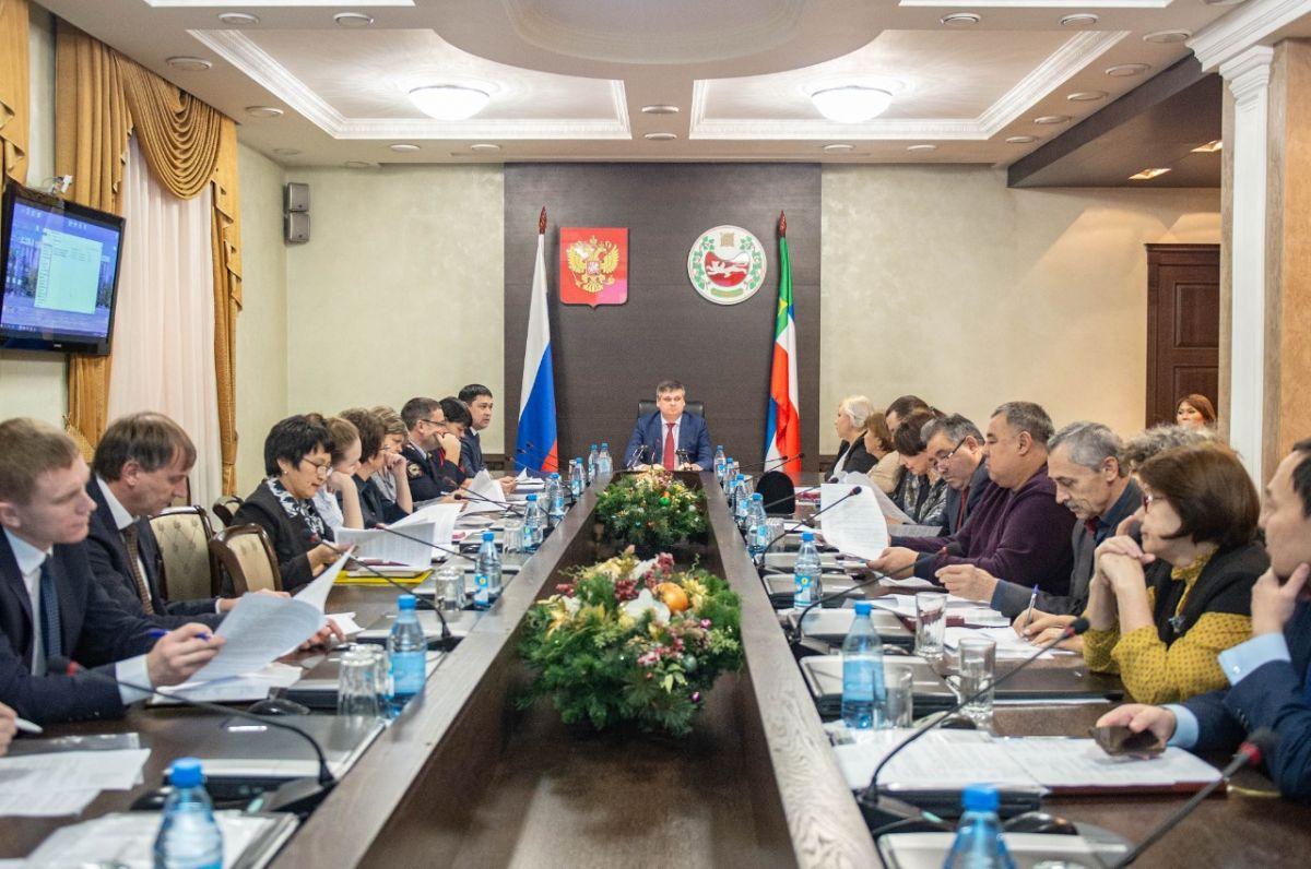 В Хакасии обсудили вопросы реализации государственной национальной политики