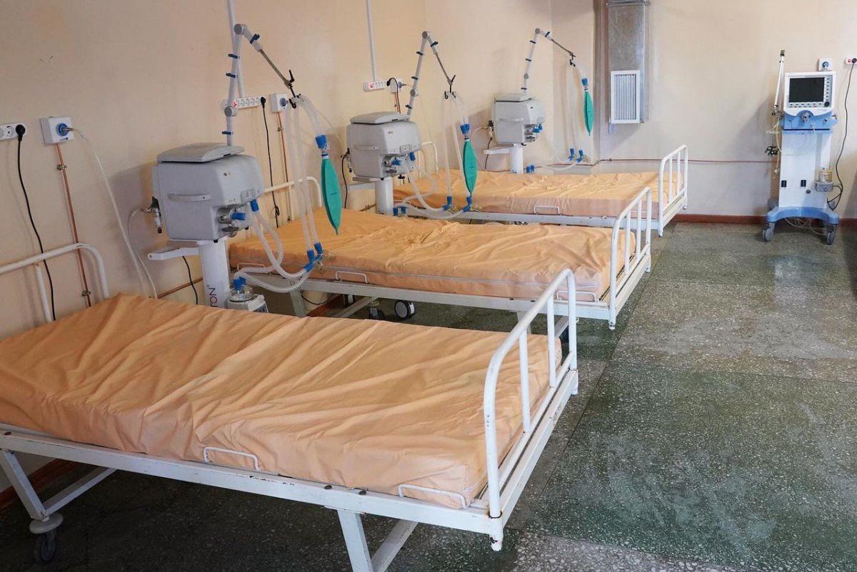 В Хакасии скончались пятеро пациентов с COVID-19