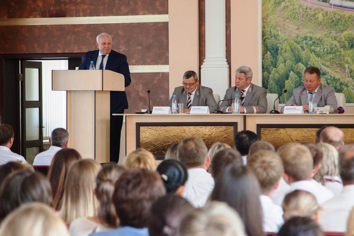 Назначен новый начальник Абаканского региона Красноярской железной дороги