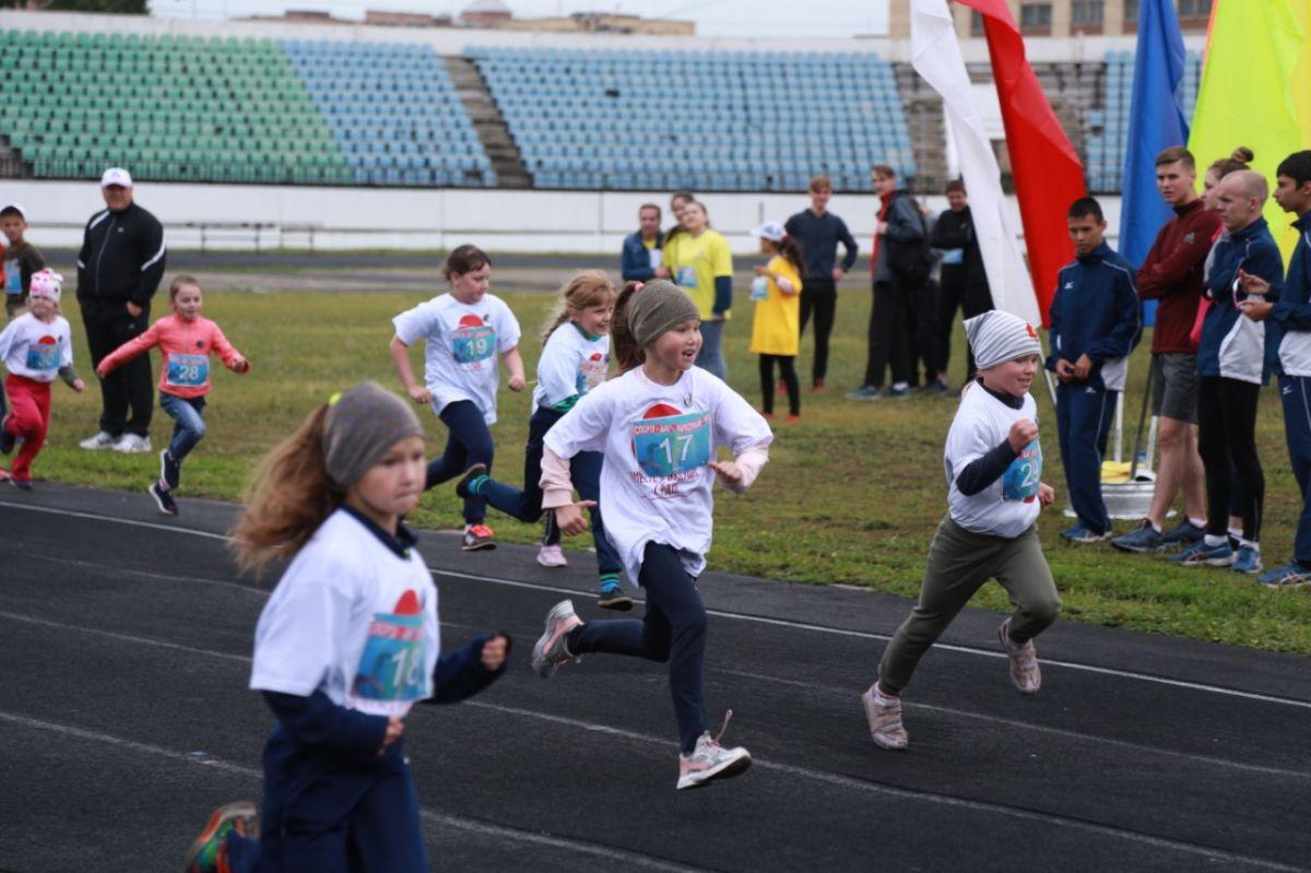 В Хакасии состоялся Всероссийский легкоатлетический пробег «Россия - территория без наркотиков»